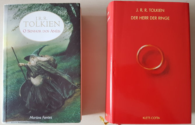 Buchcover Herr der Ringe