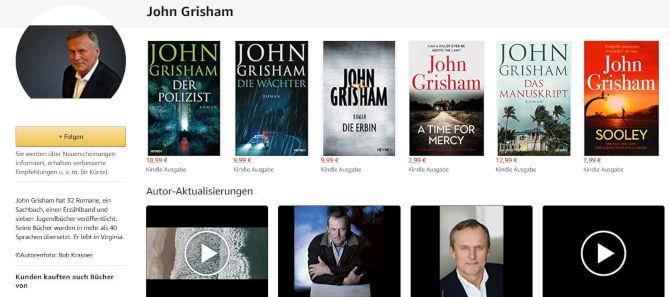 Author Central Grisham
